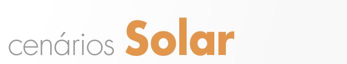Cenários Energia - Solar